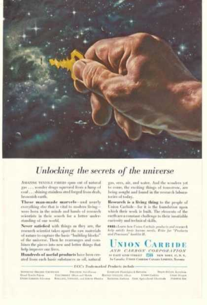 Union Carbide Unlocking Secrets of Universe (1956)