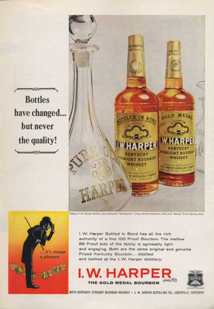 Harper Whiskey Bottle (1962)