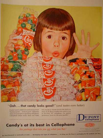 Dupont Cellphane Ooh that candy looks good (1958)
