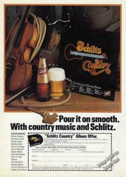 "Schlitz Beer ""Country Music and Schlitz"" (1981)"