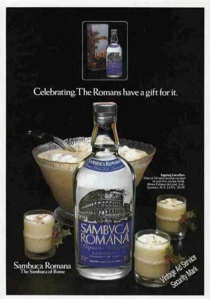 "Sambuca Romana ""Romans Have a Gift for It"" (1979)"