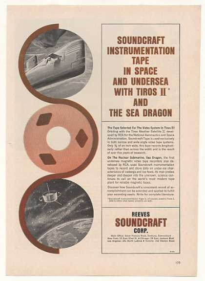 Sea Dragon Sub TIROS II Reeves Soundcraft Tape (1961)