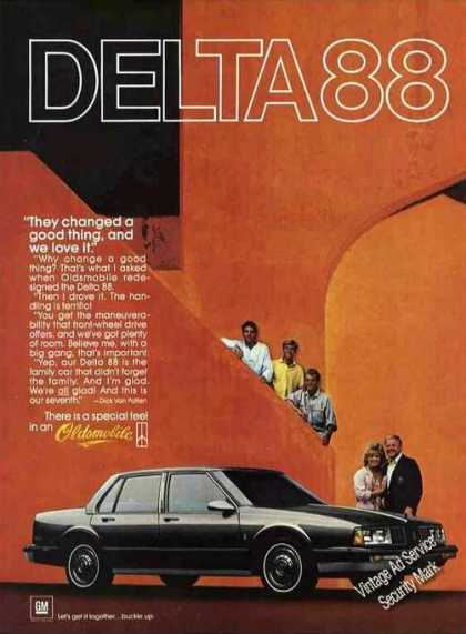 "Oldsmobile Delta 88 ""They Changed a Good Thing"" (1985)"
