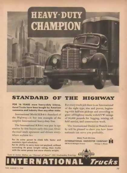International Harvester – Sold (1948)