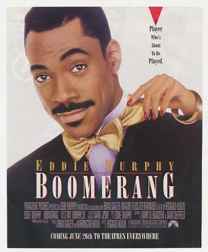 Eddie Murphy Boomerang Movie Promo Photo (1992)