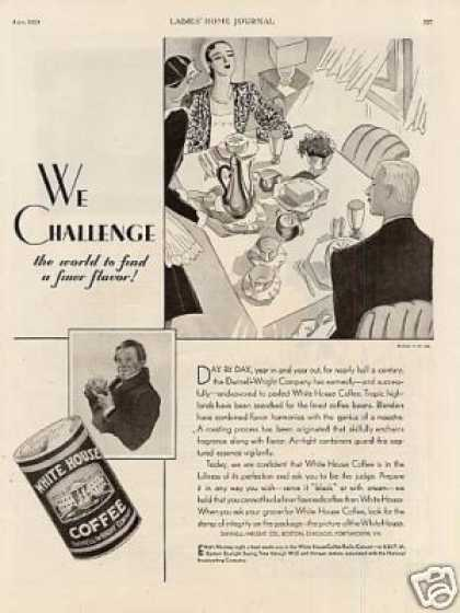 White House Coffee (1929)