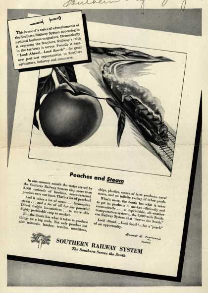 Southern Railway System – Peaches and Steam (1945)