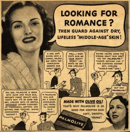 Palmolive Company's Palmolive Soap – Looking For Romance? (1939)