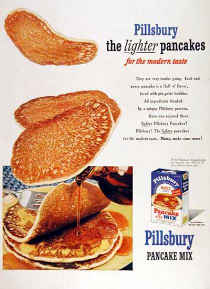 Pillsbury Pancake Mix (1953)