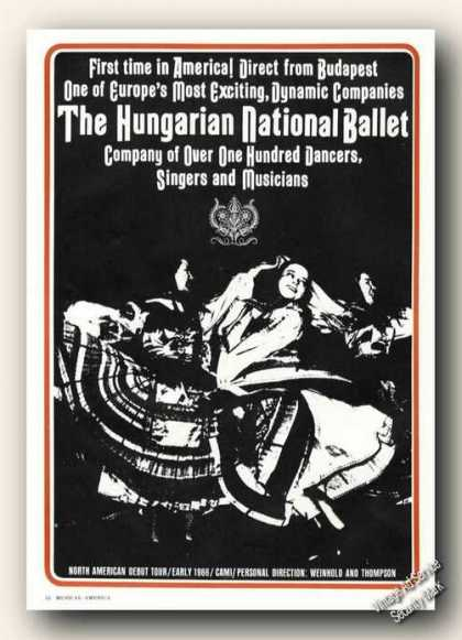 The Hungarian National Ballet Rare (1964)
