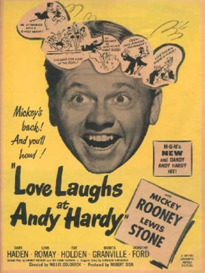 Love Laughs at Andy Hardy (Mickey Rooney) (1947)