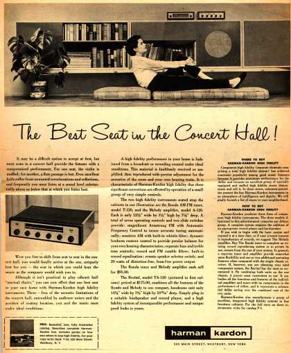 Harman Kardon's Various hi-fidelity – The Best Seat in the Concert Hall (1956)