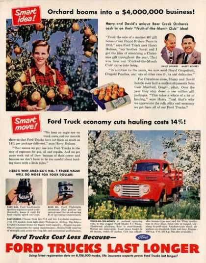 Ford Truck F-1 Stake Peach Orchard (1950)