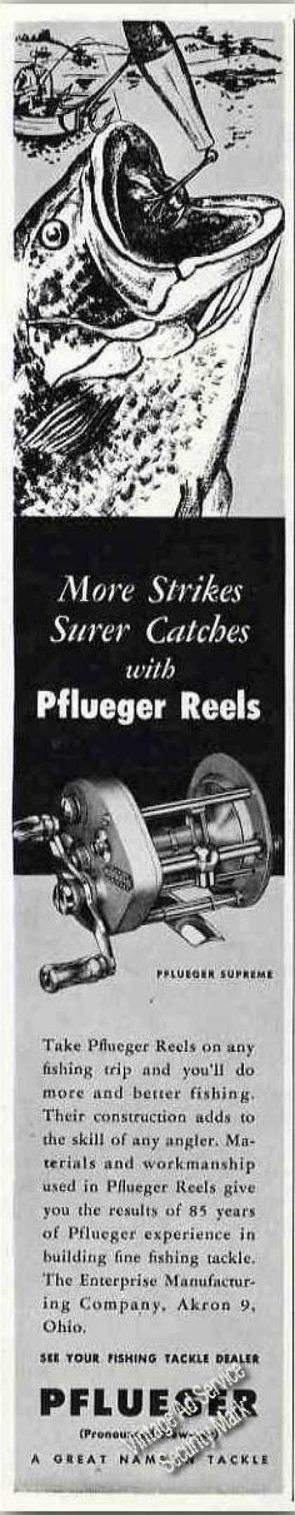 "Pflueger Reels ""More Strikes Surer Catches"" (1949)"