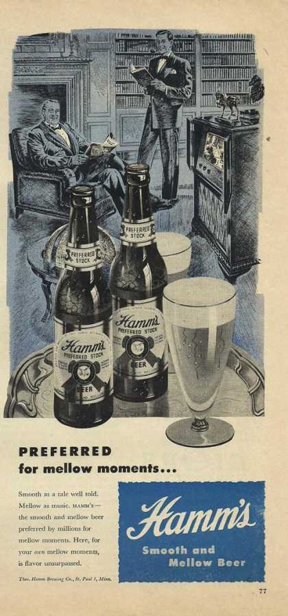 Hamms Smooth & Mellow Beer (1948)