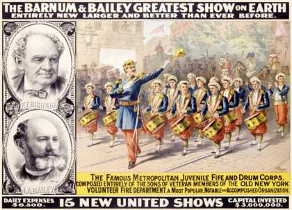 Barnum and Bailey, Circus Drum Fife Band