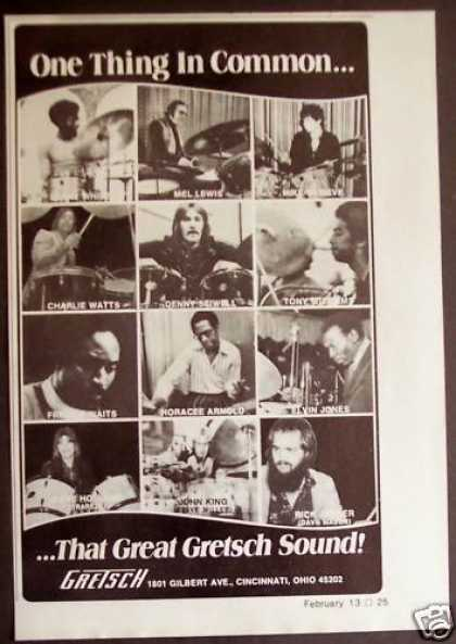 Gretsch Drums Lenny White Mel Lewis (1975)