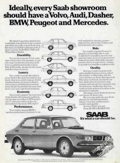 Saab Compare To Others Car Photo (1974)