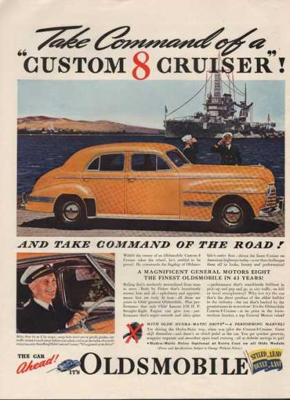 Custom 8 Cruiser Oldsmobile Car (1941)