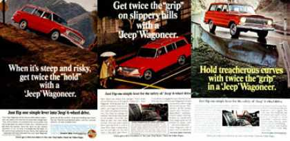 Jeep Wagoneer 4x4 (3 Ads) (1967)