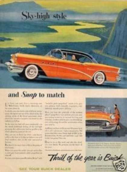 "Buick Special Car Ad ""Sky-high Style... (1955)"