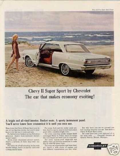 Chevrolet Chevy Ii Super Sport Coupe (1965)