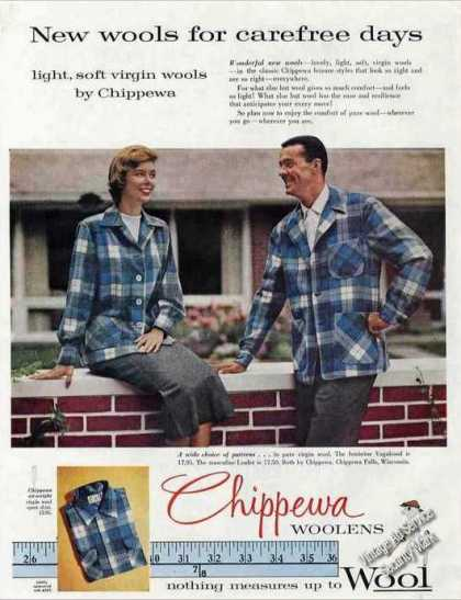 Chippewa Woolens Collectible Fashion (1957)