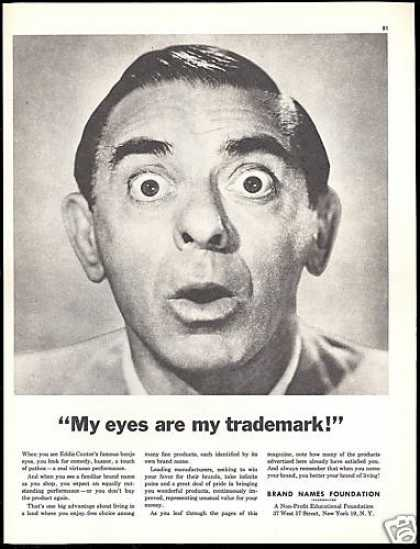Eddie Cantor Photo Brand Names Foundation (1953)