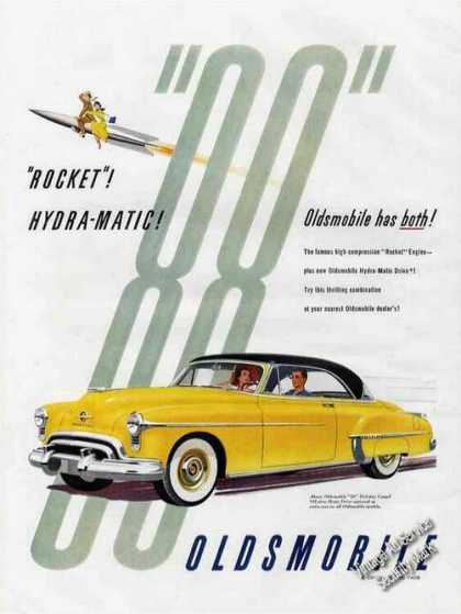 "Oldsmobile ""88"" ""Rocket""! Hydra-matic (1951)"