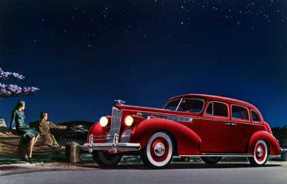Packard Super-8 One-Sixty Touring Sedan (1940)