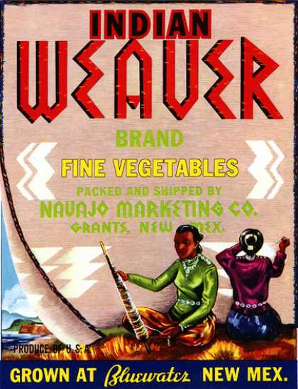 Indian Weaver Vegetables, c. s (1940)