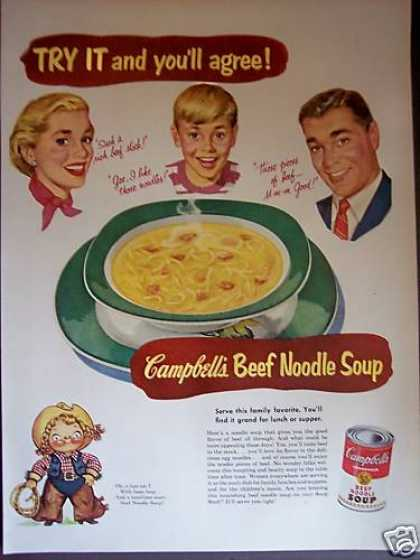 Cowgirl Campbell's Kid Soup (1953)