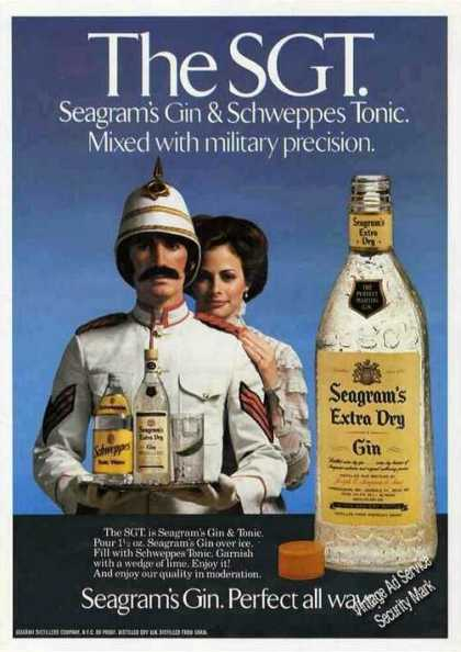"Seagram's Gin Military Precision ""The Sgt"" (1979)"