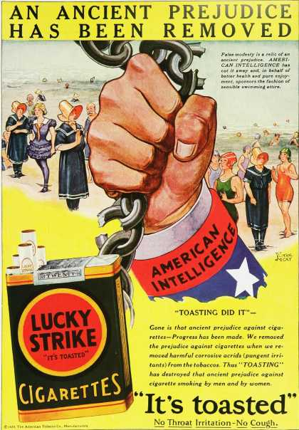 Lucky Strike – It's toasted