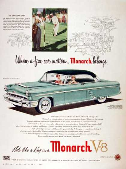 Ford Monarch Monterey Coupe (1953)