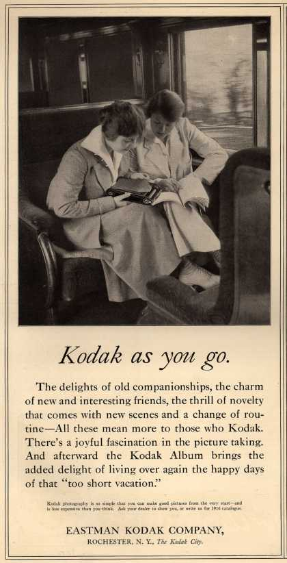 Kodak – Kodak as you go (1916)