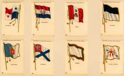 [American Tobacco Co.]'s [Sovereign Cigarettes] – World Flags – Image 3