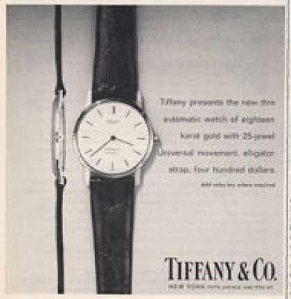 Tiffany Co. Thin Watch (1965)