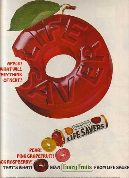 LifeSaver's Fancy Fruit (1965)