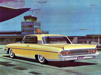 Mercury Monterey in Sunburst Yellow (1961)