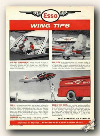 Esso Wing Tips In-flight Bombardment/tai (1958)