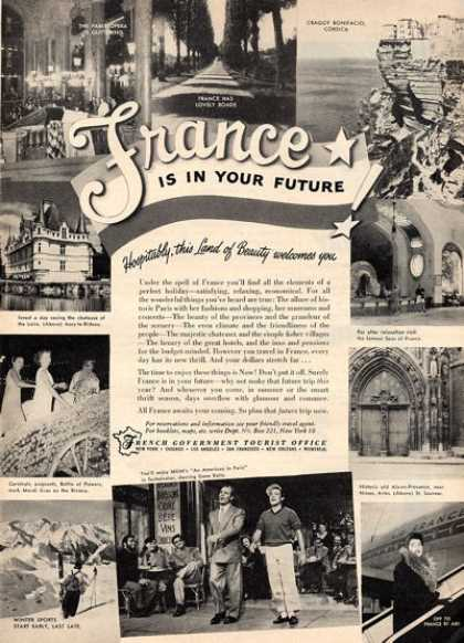 France Government Travel (1951)
