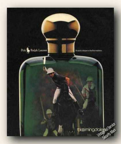 Polo By Ralph Lauren a Man's Cologne (1988)