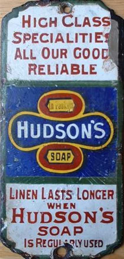 Hudson's Soap Fingerplate