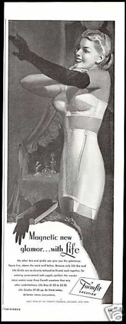 Formfit Life Bra Girdle Pretty Woman Lingerie (1947)