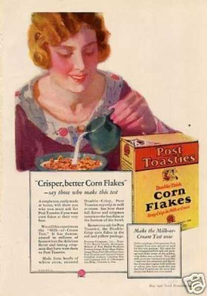 Post Toasties Corn Flakes (1927)