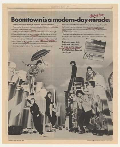 The Boomtown Rats A Tonic for the Troops (1979)