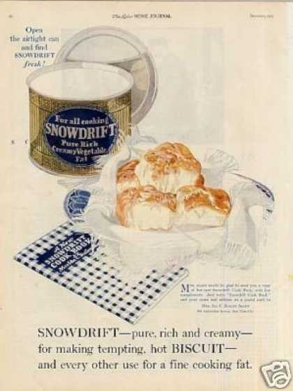 Snowdrift Shortening Color (1921)