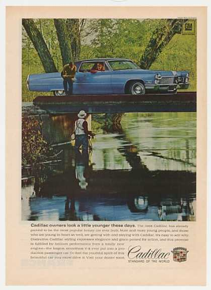 Blue Cadillac Owners Look a Little Younger (1968)