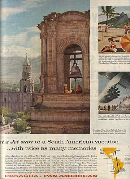 Pan Am's South American vacations (1960)